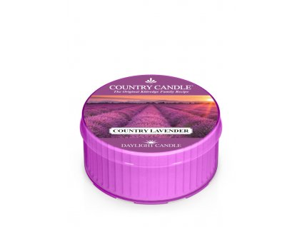 COUNTRY CANDLE Country Lavender vonná sviečka (35 g)