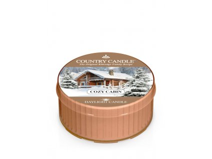 COUNTRY CANDLE Cozy Cabin vonná sviečka (35 g)