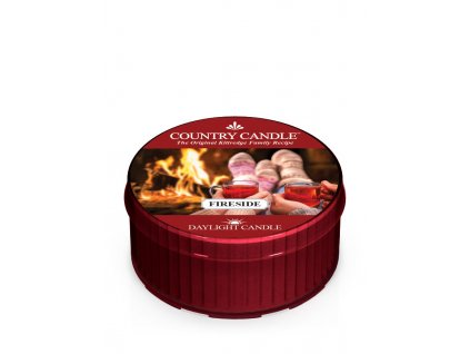 COUNTRY CANDLE Fireside vonná sviečka (35 g)
