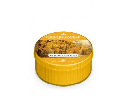 COUNTRY CANDLE Golden Autumn vonná sviečka (35 g)