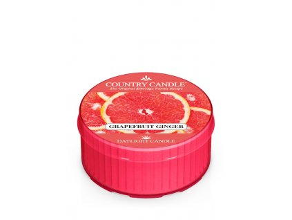 COUNTRY CANDLE Grapefruit Ginger vonná sviečka (35 g)