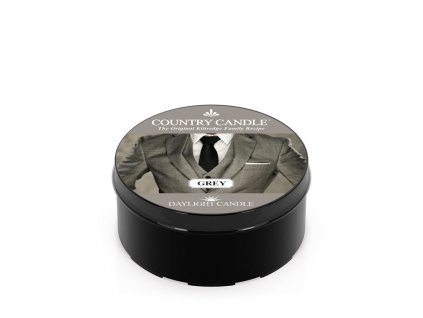 COUNTRY CANDLE Grey vonná sviečka (35 g)