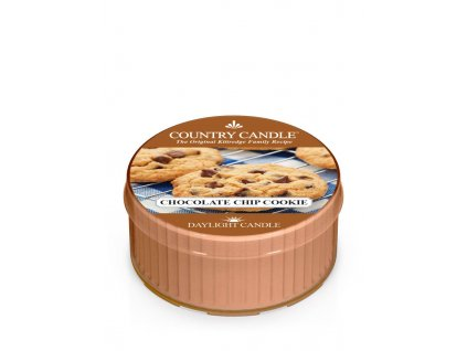COUNTRY CANDLE Chocolate Chip Cookie vonná sviečka (35 g)