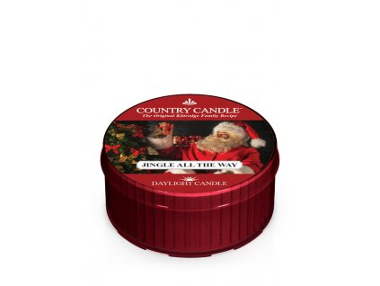 COUNTRY CANDLE Jingle All The Way vonná sviečka (35 g)