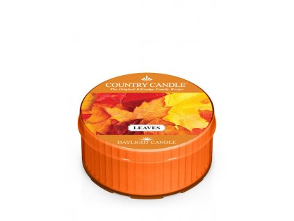 COUNTRY CANDLE Leaves vonná sviečka (35 g)