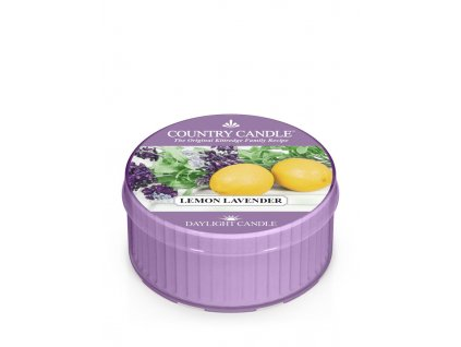 COUNTRY CANDLE Lemon Lavender vonná sviečka (35 g)