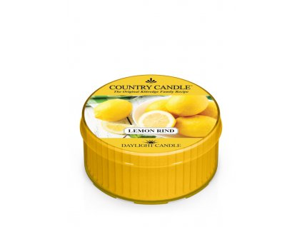 COUNTRY CANDLE Lemon Rind vonná sviečka (35 g)