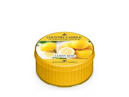 COUNTRY CANDLE Lemon Rind vonná sviečka (35 g)