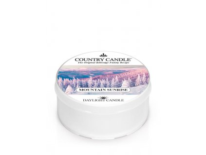 COUNTRY CANDLE Mountain Sunrise vonná sviečka (35 g)