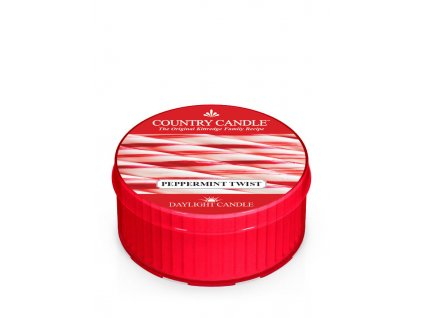 COUNTRY CANDLE Peppermint Twist vonná sviečka (35 g)