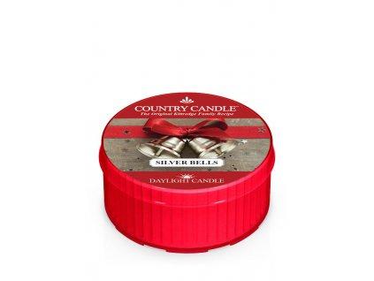COUNTRY CANDLE Silver Bells vonná sviečka (35 g)