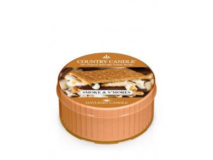 COUNTRY CANDLE Smoke & S'mores vonná sviečka (35 g)