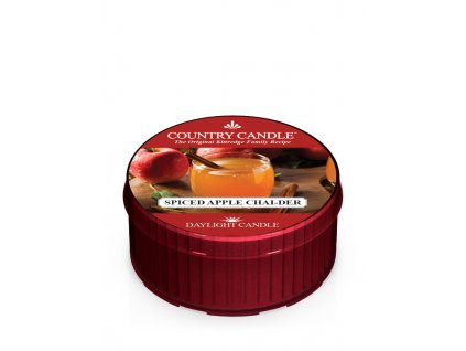 COUNTRY CANDLE Spiced Apple Chai-der vonná sviečka (35 g)