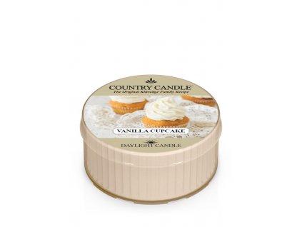 COUNTRY CANDLE Vanilla Cupcake vonná sviečka (35 g)