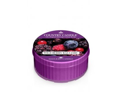 COUNTRY CANDLE Wild Berry Balsamic vonná sviečka (35 g)