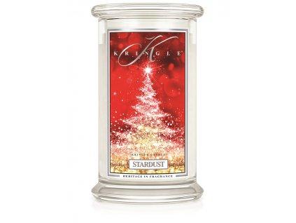 Kringle Candle Stardust vonná sviečka veľká 2-knôtová (624 g)