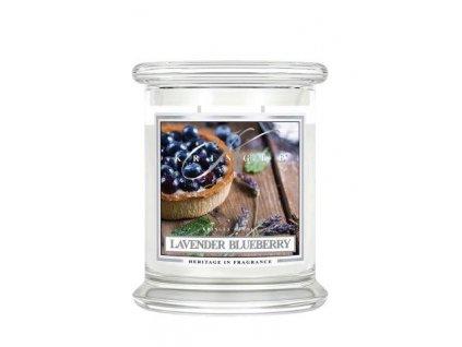 Kringle Candle Lavender Blueberry vonná sviečka stredná 2-knôtová (411 g)