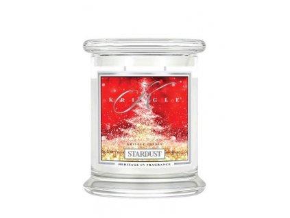 Kringle Candle Stardust vonná sviečka stredná 2-knôtová (411 g)