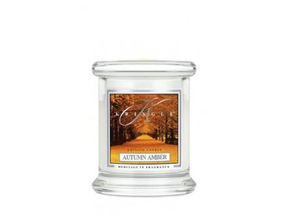 Kringle Candle Autumn Amber vonná sviečka mini 1-knôtová (127 g)