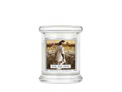 Kringle Candle Far, Far Away vonná sviečka mini 1-knôtová (127 g)