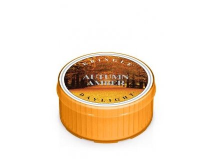 Kringle Candle Autumn Amber vonná sviečka (35 g)