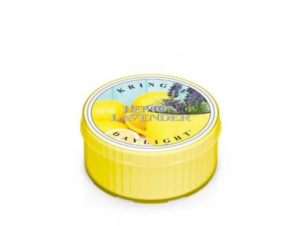 Kringle Candle Lemon Lavender vonná sviečka (35 g)