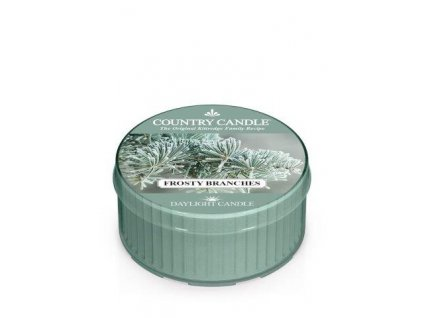 COUNTRY CANDLE Frosty Branches vonná sviečka (35 g)