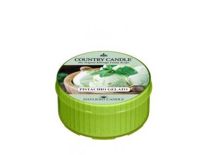 COUNTRY CANDLE Pistachio Gelato vonná sviečka (35 g)