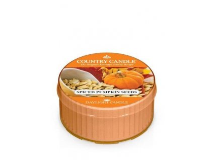 COUNTRY CANDLE Spiced Pumpkin Seeds vonná sviečka (35 g)