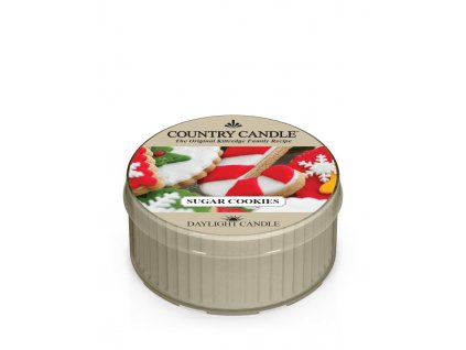 COUNTRY CANDLE Sugar Cookies vonná sviečka (35 g)