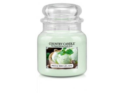 Country Candle medium jar pistachio gelato