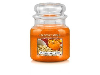 Country Candle medium jar spiced pumpkin seeds