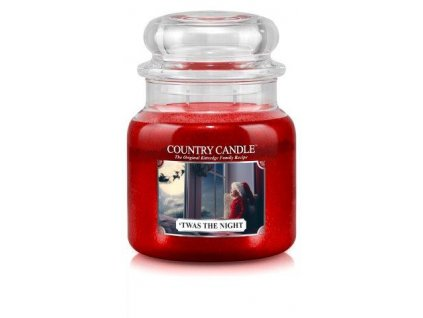 Country Candle medium jar twas the night
