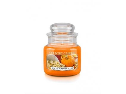 Country Candle small jar spiced pumpkin seeds
