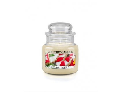 Country Candle small jar sugar cookies