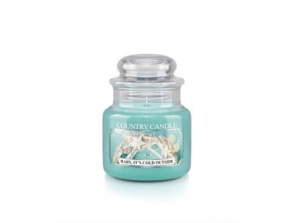 Country Candle small jar baby its cold outside