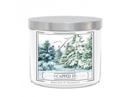 Kringle Candle Tumbler snow capped fraser