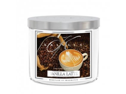Kringle Candle Tumbler vanilla latte