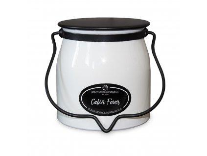 MILKHOUSE CANDLE Cabin Fever vonná sviečka BUTTER JAR 2-knôtová (454 g)