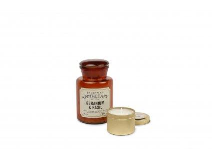 Paddywax Apothecary Geranium Basil 8oz