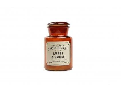 Paddywax Apothecary Amber Smoke 8oz
