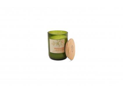 paddywax eco green mandarin lavender vonna sviecka 227 g