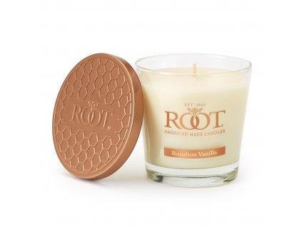 26545 root candles veriglass small bourbon vanilla