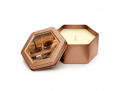 ROOT CANDLES Travel Tin Bourbon Vanilla