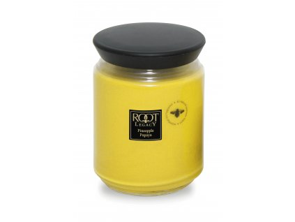 ROOT CANDLES Queen Bee Large Pineapple & Papaya