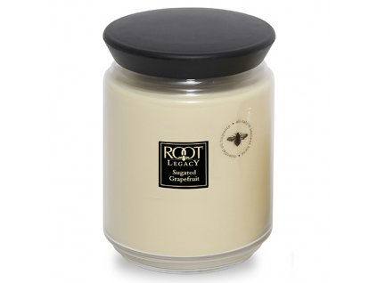ROOT CANDLES Queen Bee Large Sugared Grapefruit