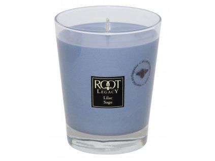 ROOT CANDLES Veriglass Large Lilac Sage