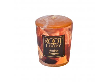 ROOT CANDLES Votivo Amber Saffron