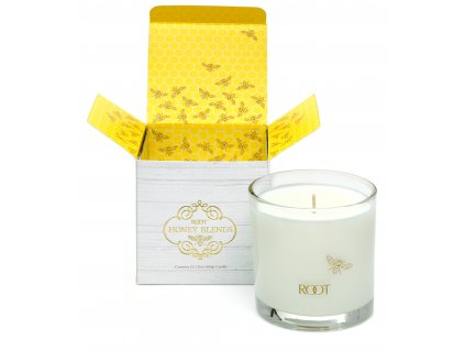 ROOT CANDLES Honey Blends Brewed Honey
