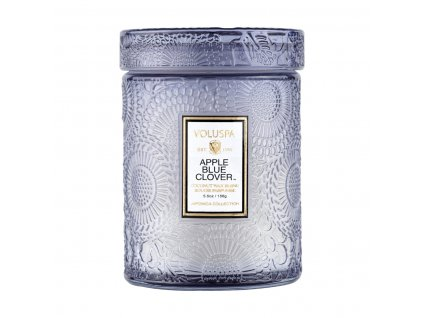 73524 Voluspa Japonica Apple Blue small jar candle 155g